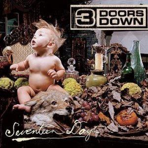 3 Doors Down Seventeen Days CD