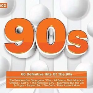 60 Definitive Hits Of The 90s (3CD)