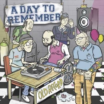 A Day To Remember Old Record CD