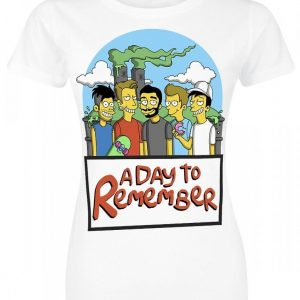 A Day To Remember Springfield Naisten T-paita