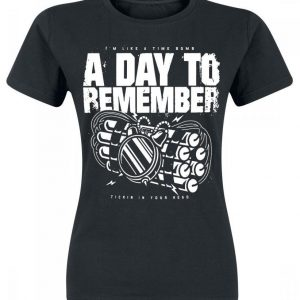 A Day To Remember Tickin In Your Head Naisten T-paita