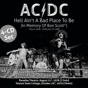 AC/DC - Hell Aint A Bad Place To Be - In Memory Of Bon Scott (4CD)