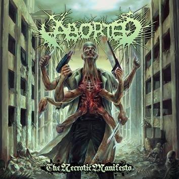 Aborted The Necrotic Manifesto CD