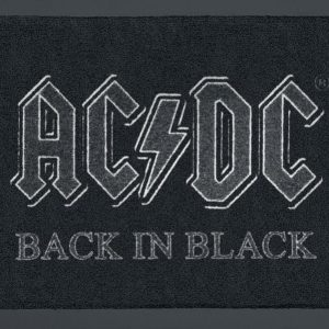 Ac/Dc Back In Black Ovimatto