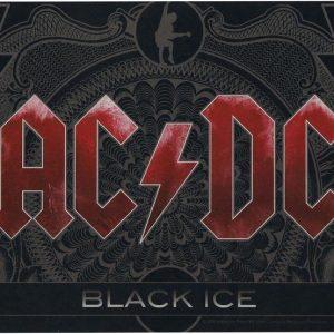 Ac/Dc Black Ice Aamiaislauta Melamiinia / Litteää Laminaattia