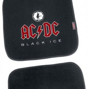 Ac/Dc Black Ice Fußmatten-Set 4-Teilig Ovimatto Musta