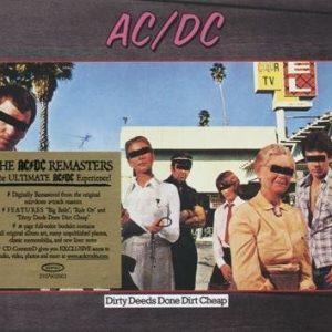 Ac/Dc Dirty Deeds Done Dirt Cheap CD