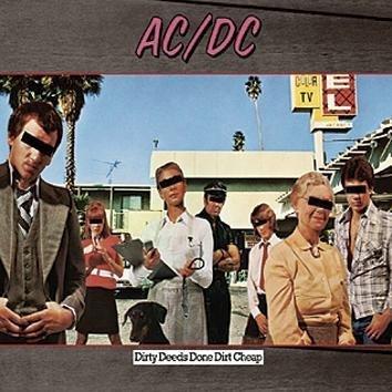 Ac/Dc Dirty Deeds Done Dirt Cheap LP
