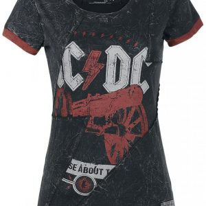 Ac/Dc Emp Signature Collection Naisten T-Paita