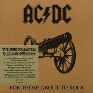 Ac/Dc For Those About To Rock CD