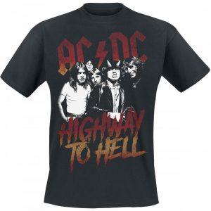 Ac/Dc Highway To Hell T-paita