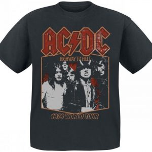 Ac/Dc Highway To Hell Tour '79 T-paita