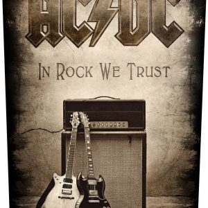 Ac/Dc In Rock We Trust Selkälippu 100% Polyesteria
