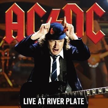 Ac/Dc Live At River Plate Lp Punainen
