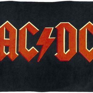 Ac/Dc Logo Peitto Musta