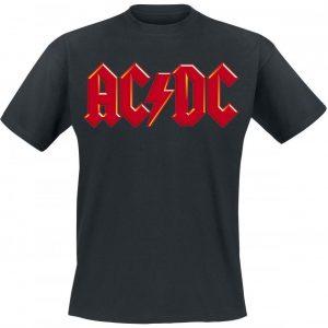 Ac/Dc Red Logo T-paita