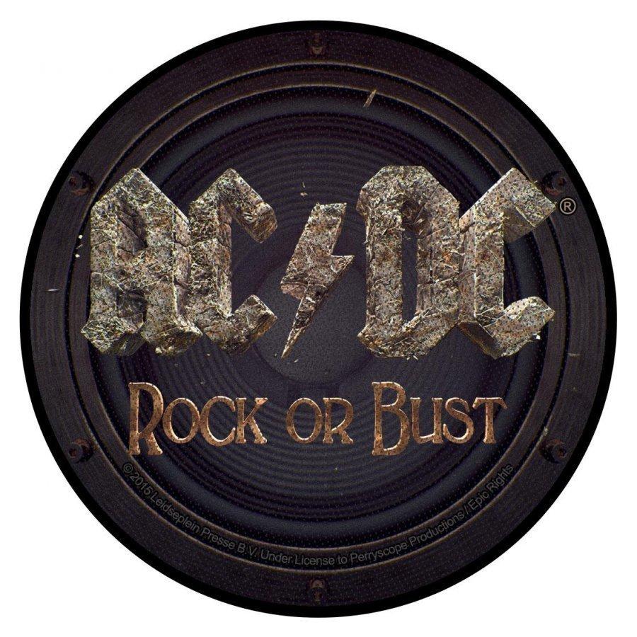 Ac/Dc Rock Or Bust Kangasmerkki 100% Polyesteria