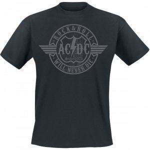 Ac/Dc Rock & Roll Will Never Die T-paita