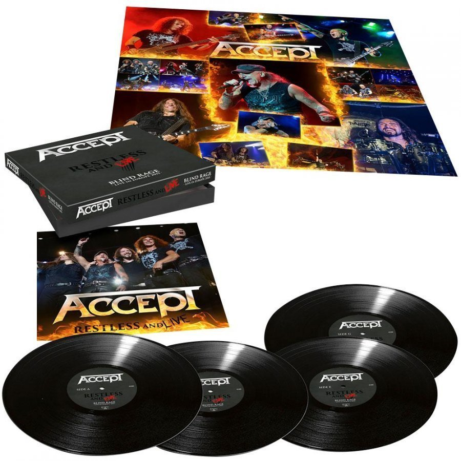 Accept Restless And Live LP