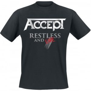 Accept Restless And Live T-paita