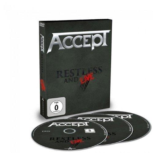 Accept - Restless & Live - Digipak (DVD+2CD)
