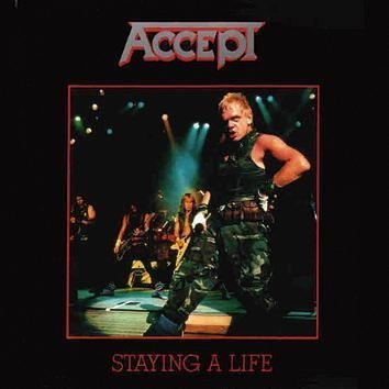 Accept Staying A Life CD