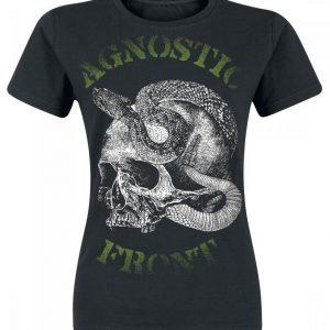 Agnostic Front Snake Skull Naisten T-paita
