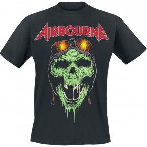 Airbourne Hell Pilot T-paita