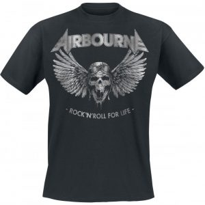 Airbourne Rock 'N Roll For Life T-paita