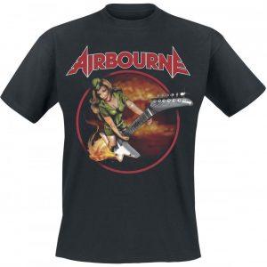 Airbourne Woman T-paita