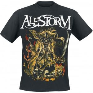 Alestorm We Are Here To Drink Your Beer! T-paita