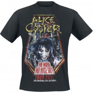 Alice Cooper No More Mr Nice Guy Tour 2011 T-paita