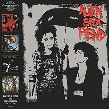 Alien Sex Fiend Classic Albums & Bbc Sessions Collection CD