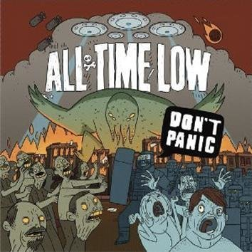 All Time Low Don't Panic CD