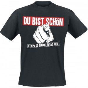 Alligatoah Du Bist Schön T-paita
