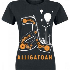 Alligatoah Triebwerke Naisten T-paita