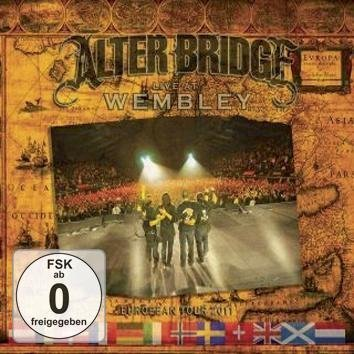 Alter Bridge Live At Wembley European Tour 2011 Blu-Ray