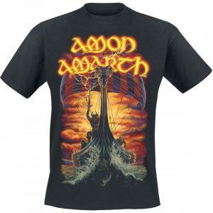Amon Amarth At Dawns First Light T-paita