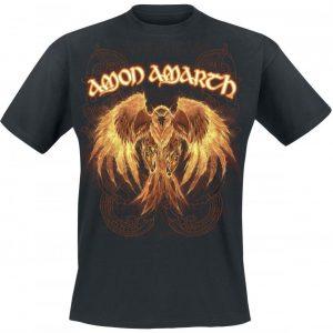 Amon Amarth Burning Eagle T-paita