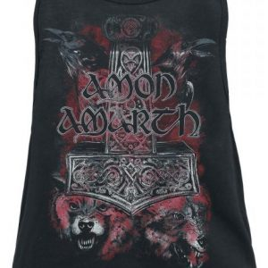 Amon Amarth Crows And Wolves Naisten Toppi