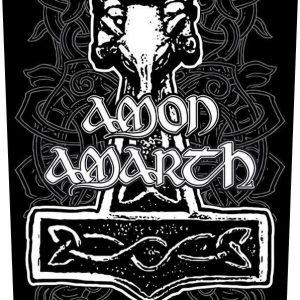 Amon Amarth Hammer Selkälippu 100% Polyesteria