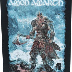 Amon Amarth Jomsviking Selkälippu Musta