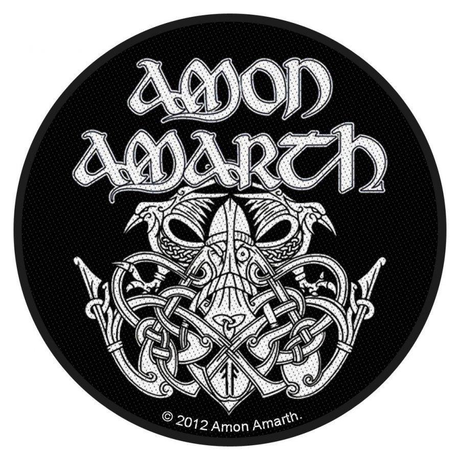 Amon Amarth Odin Kangasmerkki 100% Polyesteria