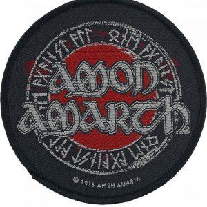 Amon Amarth Runes Kangasmerkki 100% Polyesteria
