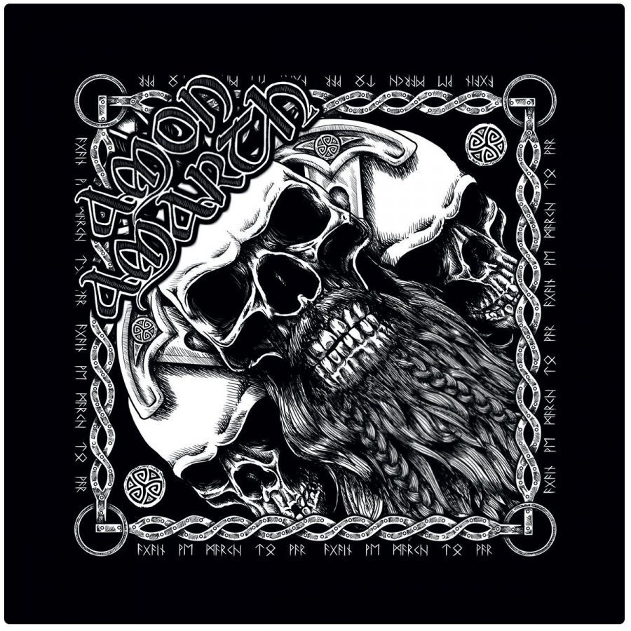 Amon Amarth Skull Bandana