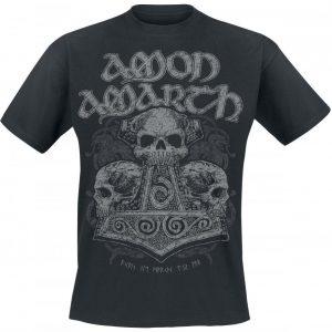 Amon Amarth Skull Hammer T-paita