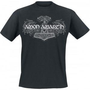 Amon Amarth Viking Horses T-paita