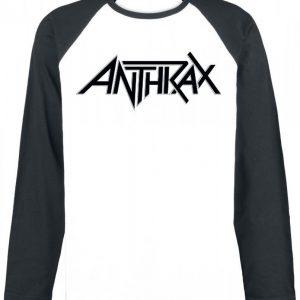 Anthrax Logo Pitkähihainen Paita