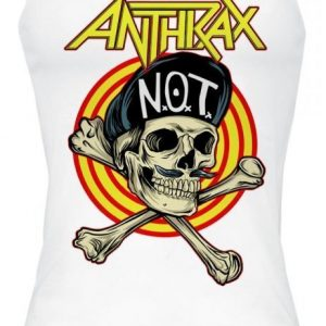 Anthrax Not Man Skull Toppi