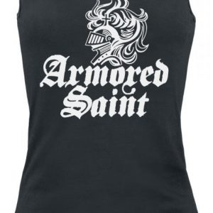 Armored Saint Logo White Toppi